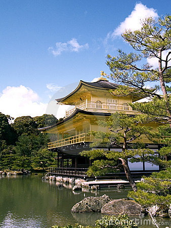 Free Kinkaku (The Golden Pavilion) Royalty Free Stock Images - 618849