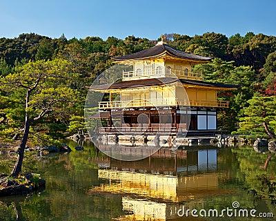 Kinkakuji寺庙