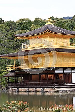 Kinkakuji castle