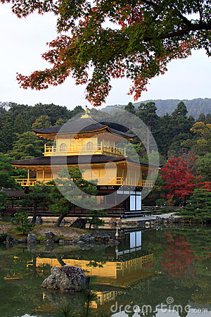 Kinkakuji  - the famous Golden Pavilion at Kyoto