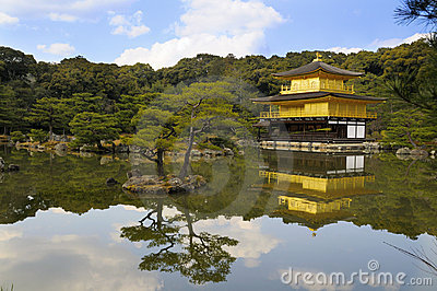 Kinkakuji, Golden Pavilion; Kyoto, Japan