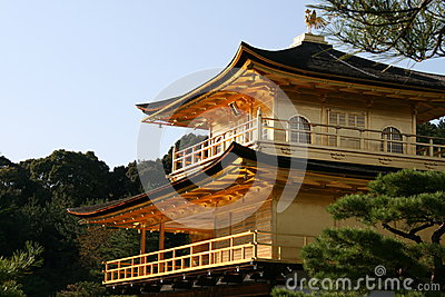 Kinkakuji the Golden temple