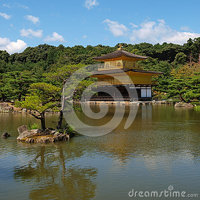 Kinkakuji,Temple