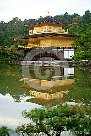 Kinkakuji Temple (The Golden Pavilion) in Japan