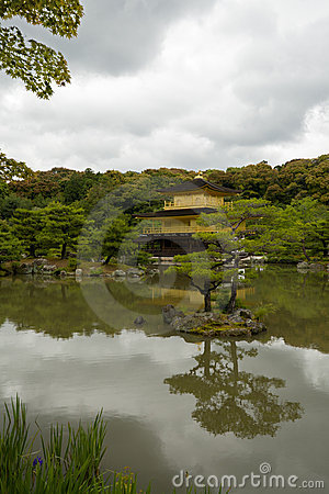 Kinkakuji Temple(Golden Pavilion) at Kyoto