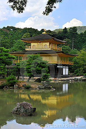 Kinkakuji Temple (The Golden Pavilion) / Kyoto, Ja