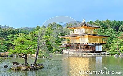 Kinkakuji Temple (The Golden Pavilion) in Kyoto