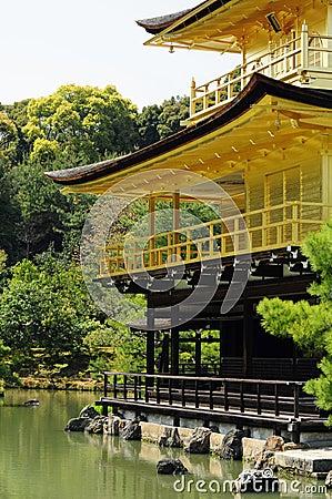 Kinkakuji temple Kyoto