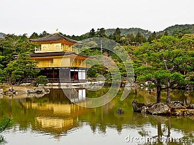 Kinkakuji temple, Kyoto, Japan 1