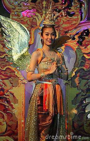Kinnaree in Miracle Year of Amazing Thailand 2012 Editorial Photography