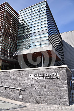Kinnear Centre facade Editorial Photography