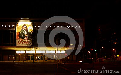 Kino International Berlin Editorial Photography