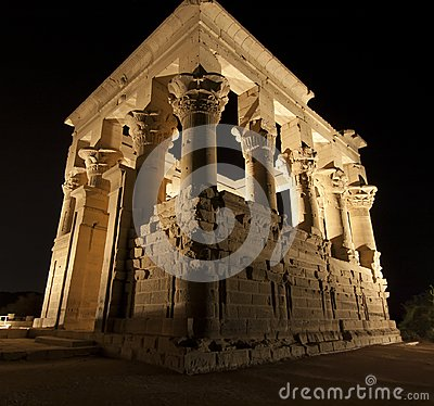 Kiosk of Trajan at the Temple of Isis