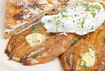 Kipper & Poached Egg Breakfast