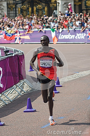 Kiprotich wins the 2012 Olympic Marathon Editorial Photography