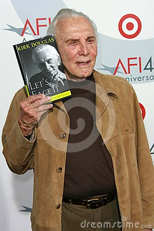 Kirk Douglas Editorial Photography