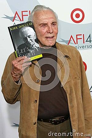 Kirk Douglas Editorial Photography