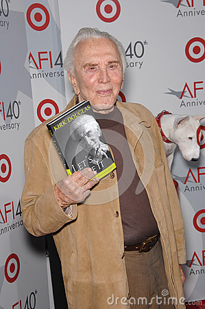Kirk Douglas Editorial Stock Image