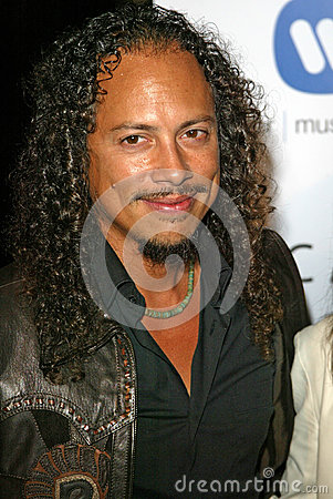 Kirk Hammett Editorial Image