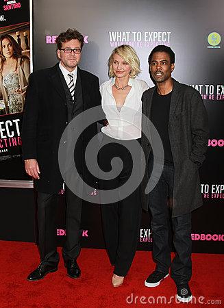 Kirk Jones, Cameron Diaz, and Chris Rock Editorial Photo