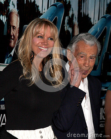 Kirk Kerkorian arrives at the HBO s  His Way  Los Angeles Premiere Editorial Photo