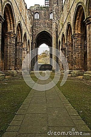 Kirkstall leeds аббатства