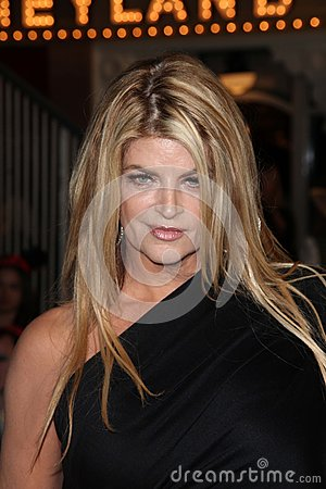 Kirstie Alley Editorial Stock Photo