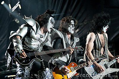 KISS Editorial Stock Image