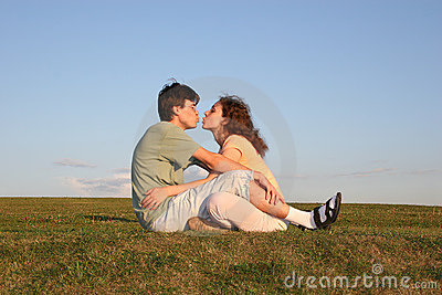 Kiss couple