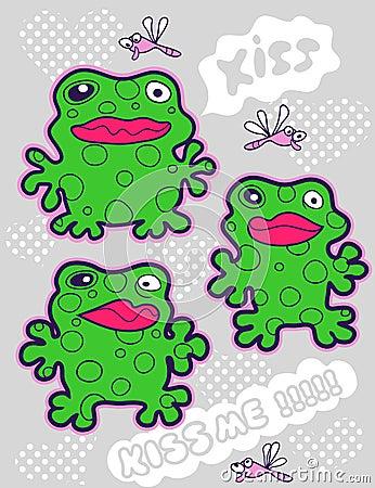 Kiss frog