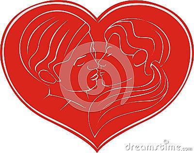 kiss in hearth