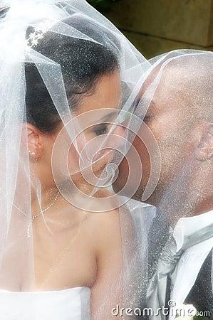 Kiss under Veil