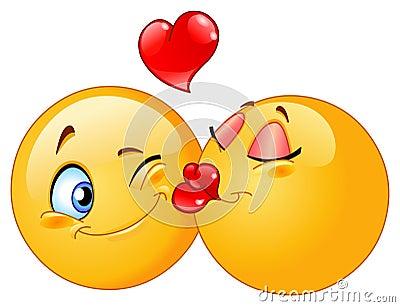 Kissing Emoticons
