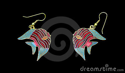 Kissing Fish Earrings