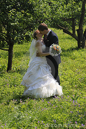Kissing married couple