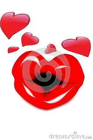 Kissing Valentine
