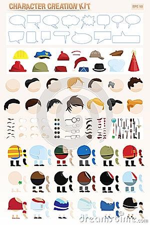 Kit de création de caractère