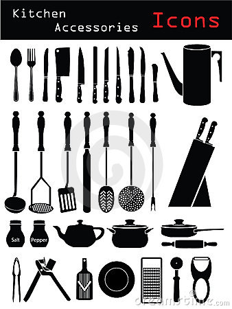 Free Kitchen Accessories Royalty Free Stock Image - 10049466