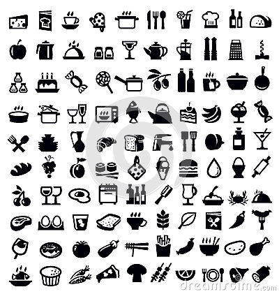 Free Kitchen And Food Icon Royalty Free Stock Photo - 31009395