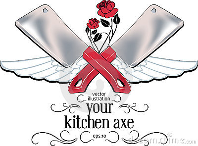 Kitchen axe label