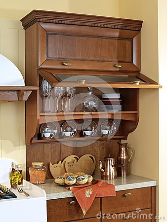 Kitchen Cabinet for dishes