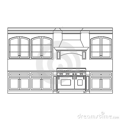 Kitchen Cabinets Ideas Drawing Kitchen Cabinets Kitchen Cabinets Stock  Photography Image 14125622 Part 94