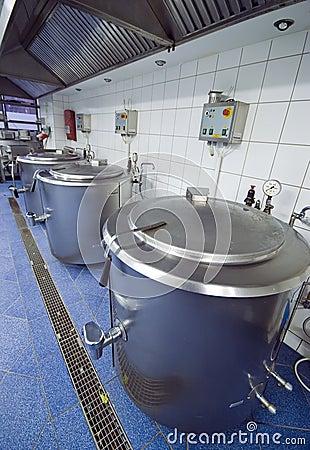 Free Kitchen Cauldrons Royalty Free Stock Photos - 4378958
