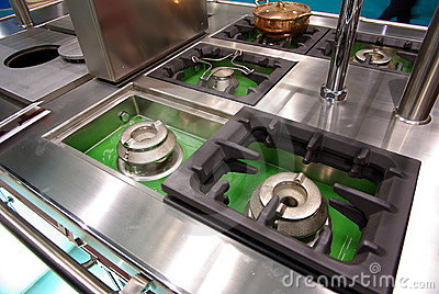 Kitchen cooktops
