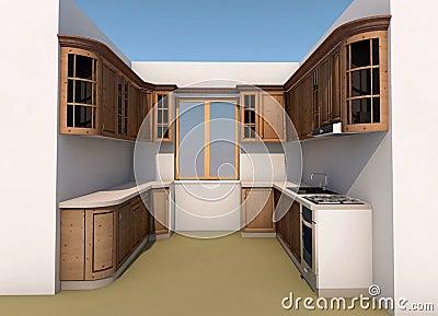 Kitchen design stock illustration image 66910416 What software do interior designers use