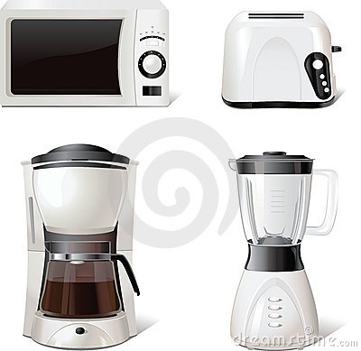 Free Kitchen Equipment Icons For Windows, Print, Vector Stock Photos - 14592983