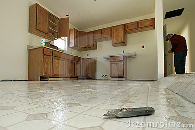 Kitchen Floor Installation