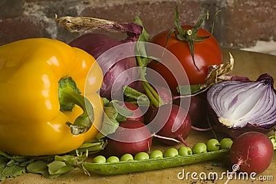 Kitchen garden vegetable