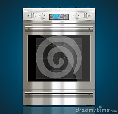 Free Kitchen - Gas Stove Stock Photography - 36296672