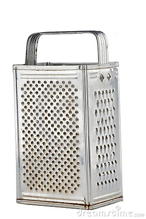 Kitchen grater isolated